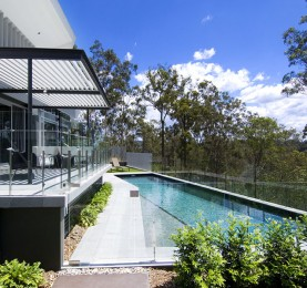 4. Kenmore house by Cottee Parker Architects with Frameless Glass Balustrade and Pool Fencing