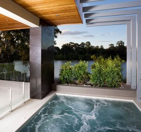 5. Australian House of the year using Thump frameless pool fence by TAK Property Group