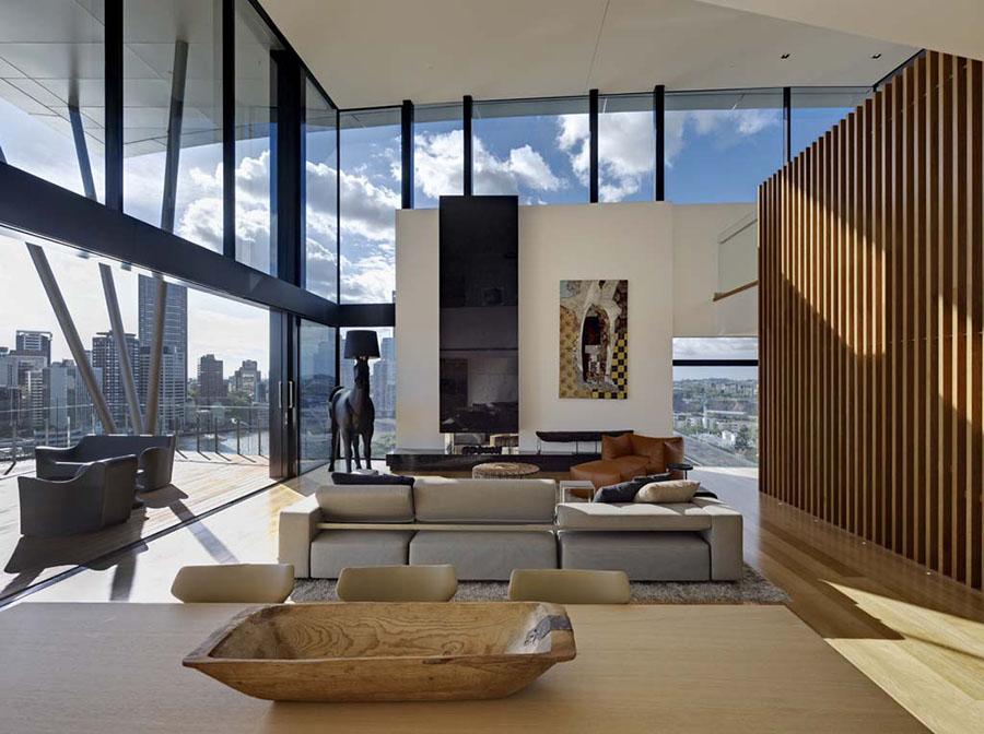 Brisbanes most expensive penthouse by jackson teece - Ville americane interni ...
