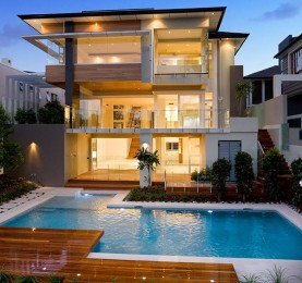 Frameless Glass Pool Fence in Brisbane by TAK Property Group